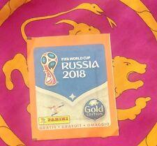 Bustina sigillata  Panini RUSSIA 2018 - MIGROS version - GOLD edition - WC 2018