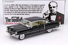 Cadillac Fleetwood Serie 60 à partir de la film The Godfather 1972 noir 1:18 Gr