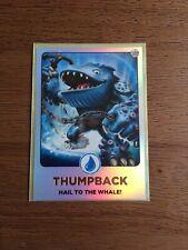 Skylanders Giants Topps ThumpBack Foil Trading Card 2012