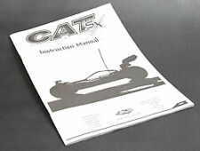 Schumacher Instr Manual - CAT SX - U3285