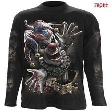 Spiral Direct JACK NELLA SCATOLA T-shirt a maniche lunghe/Biker/Tatuaggio/Clown/