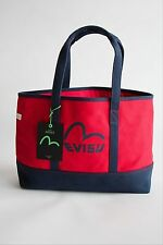 Genuine Evisu Genes 'Osamu' Canvas Tote Bag Red BNWT