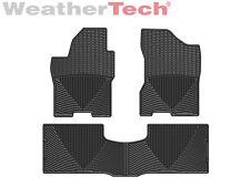WeatherTech All-Weather Floor Mats for Nissan Titan - 2008-2015 - Black