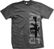 AR 15 Assault Rifle Gun 2nd Amendment Liberty Freedom Arms New Mens T-shirt