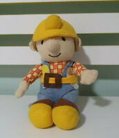 BOB THE BUILDER PLUSH TOY BEANIE CHARACTER TOY 21CM BORN TO PLAY 2008