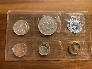 1956 US Mint Proof Set 5 Piece Silver Setwith Original Envelope