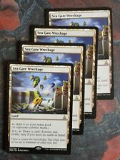 Mtg sea gate wreckage x 4 great condition