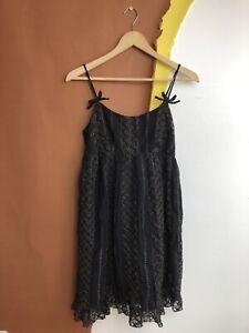 Women's Anna Sui Lace Babydoll Dress Size 4