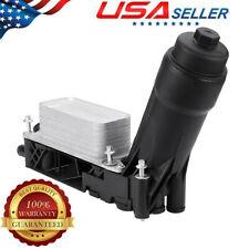 Oil Cooler Filter Housing For 2011-13 Jeep Dodge Chrysler Ram 3.6L V6 5184294AE