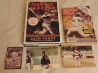 Reggie Jackson Thunderous Career By Dayn Perry BONUS 1980 Baseball Digest LOT x5