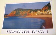 England Devon Sidmouth Beach and High Peak IOD-039 John Hinde - posted 2000