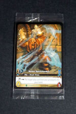 (3) World of Warcraft WoW TCG Medoc Spiritwarden Azeroth Promo Extended Art