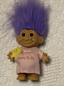 "PREGNANT MOMMY-TO-BE - 5"" Russ Troll Doll"