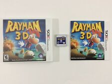 Rayman 3D Nintendo 3DS Auth Tested Complete CIB