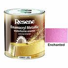 Resene Enamacryl Metallic Effect Paint Pink Enchanted Shimmer Sparkle Glitter
