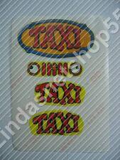 Custom Sticker Aufkleber für Lego Fabuland Set 338 Taxizentrale