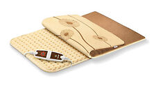 Beurer HK125 XXL Cosy Snuggle Fleece Heating Pad Washable 6 Heat Settings NEW