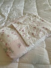 Ashwell Simply Shabby Chic Ditsy PINK Roses Patchwork Quilt King And 2 Shams