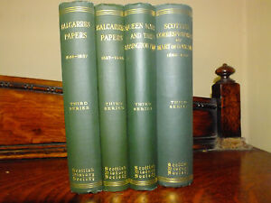 Mary queen Of Scots History Society Books Collection 1922-1927