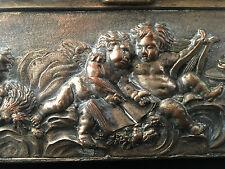 Coffret Napoleon III Renaissance aux Amours Antique Box French Paris XIX ème
