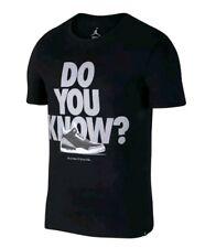2a92e48e941 Nike Air Jordan 3 Retro Black Cement Do You Know T-Shirt Size XXL 943936