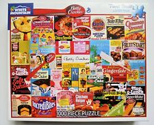 """WHITE MOUNTAIN 1000 PIECE PUZZLE BETTY CROCKER LARGER PIECES 24"""" X 30"""" USED ONCE"""