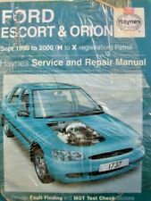 FORD ESCORT WORKSHOP MANUAL