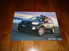 Toyota RAV4 Prospekt 09/2002 Australien
