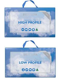 Dentons Pillows Contoured High & Low Profile Pillow