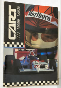 ORIGINAL 1990 CART PPG INDY CAR WORLD SERIES MEDIA GUIDE PROGRAMME BOOK AL UNSER