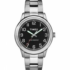 Timex New England 40mm Silver Metal Band Mens Watch TW2R36700