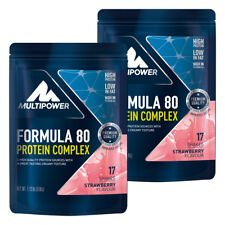 (27,44�'�/kg) Multipower 2x510g Beutel Formula 80 Eiwei�Ÿ Protein Complex + Bonus