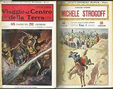 PROTOFANTASCIENZA_VERNE_VIAGGIO AL CENTRO DELLA TERRA e Michele Strogoff_1930*