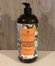 Measurable Difference Coconut Ultra-Hydrating Body Wash 32 oz. Pump Bottle NEW