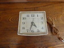 Vintage General Electric Kitchen Wall Clock-MCM  Works!!