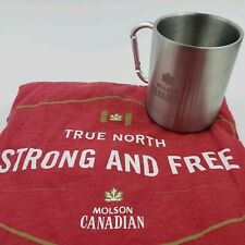 Molson Canadian Beer Promo Mug And Shirt Extra Large True North Strong And Free