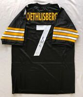 Big Ben Roethlisberger Signed Autographed Steelers NFL Jersey W/COA from Global