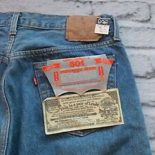 Vintage NEW Levis 501 Denim Jeans Made in USA 501-0113 80s 90s 30