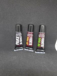 Paintglow UV nad Natural FAKE Blood Gel Free P&P to UK