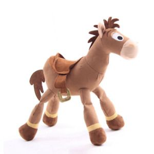 25CM Bullseye Horse Toy Story Soft Plush Stuffed Doll Animals Kids Gift