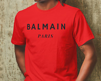 BALMAIN Shirt Men Women Unisex BALMAIN T-shirt VLONE Shirt BALMAIN PARIS Shirt