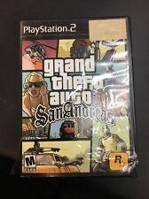 Grand Theft Auto San Andreas Playstation 2 PS2 Rockstar