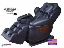 Luraco Black iRobotics i7 Plus 3D Zero Gravity Massage Chair White Glove + Bonus
