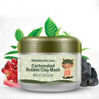 HO_ EB_ 100g Collagen Hydrating Shrink Pores Face Mask Deep Cleaning Skin Care S