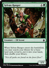 4x Sylvan Ranger (Waldhüter) Commander Anthology Magic