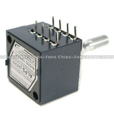 100k Log Audio Amp Volume Control Potentiometer Pot Stereo W Loudness For Alsp