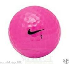 24 AAA Nike PD Power Distance Women Pink Used Golf Balls (3A)