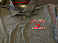 MLB Men's Boston Red Sox Polo T-Shirt Size Medium