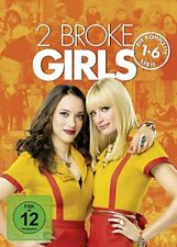 17 DVD-Box ° 2 Broke Girls ° komplette Serie - Staffel 1 - 6 ° NEU & OVP