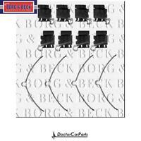 Brake Pad Fitting Kit Front for LEXUS IS300 3.0 01-05 2JZ-GE JCE Petrol BB